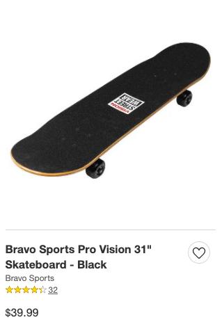 Shitty Target Skateboard