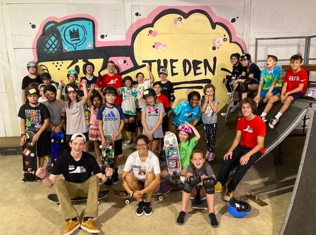 The Den Skatepark, Skate Shop and Community Center