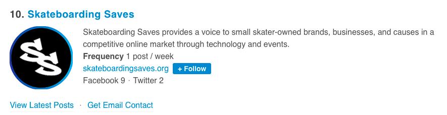 Feedspot Top 35 Skateboard Blogs and Websites